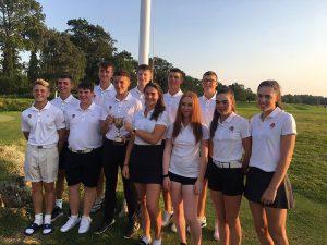 Finn Nelson and England Schools Team August 2019